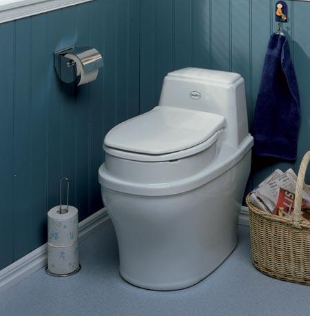 Separera 30 muldtoilet - kildesorterende toilet