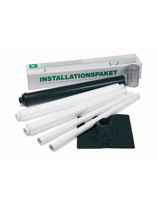 Muldtoilet installations kit til muldtoiletter