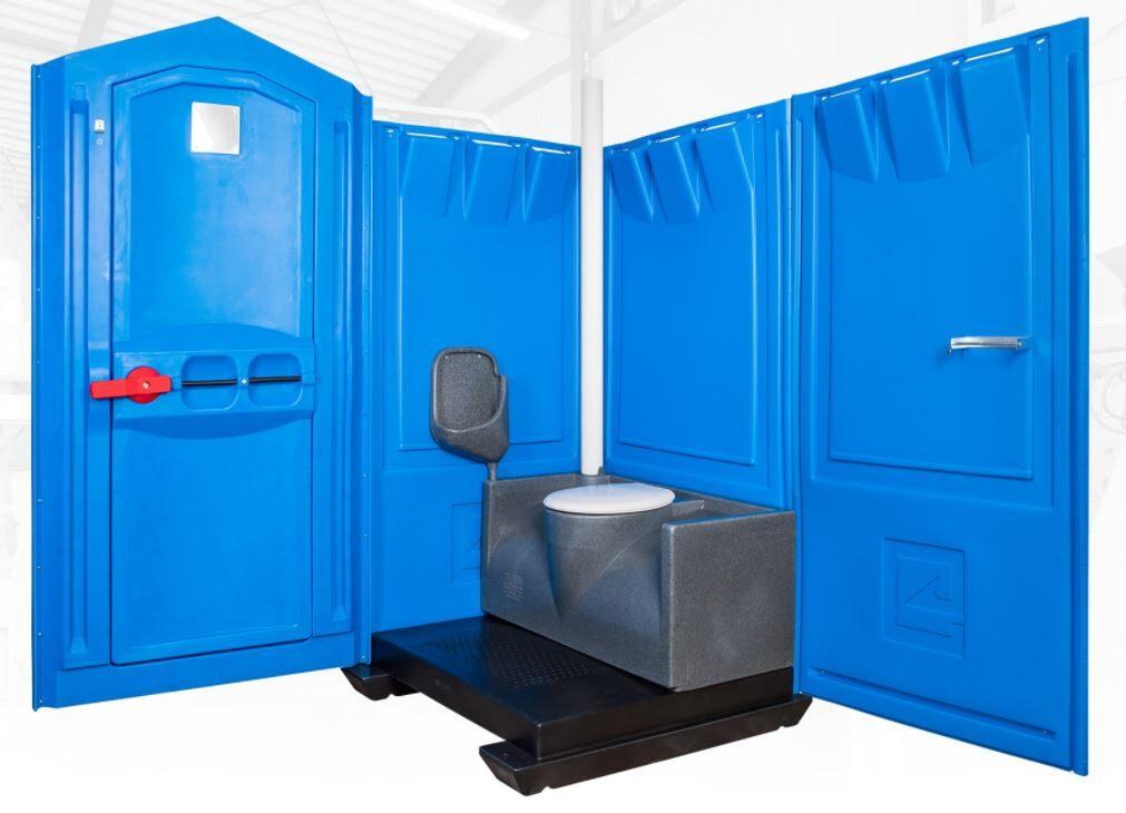 Toiletkabine (uden strøm)